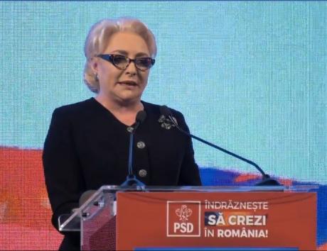 Viorica Dăncilă: De ziua mea, îmi doresc ca România să fie respectată