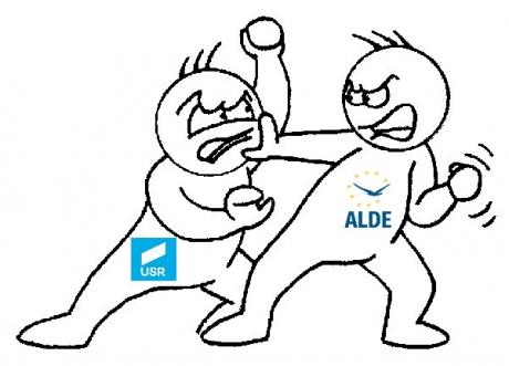 'Bătaie' între ALDE şi USR, pentru locul în familia politică europeană: 'Partidul noii securități încearcă accederea prin metode securiste în grupul liberal'