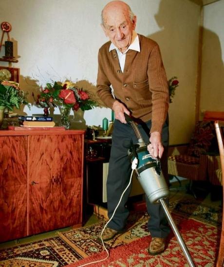 Gustav Gerneth a devenit cel mai bătrân bărbat din lume