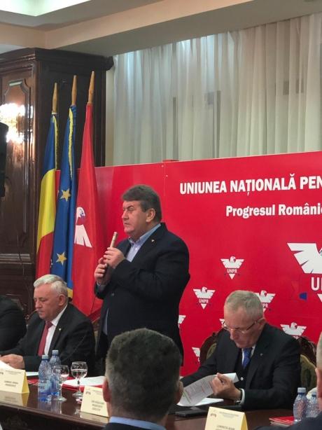 Tur de forță al lui Gabriel Oprea - UNPR are gânduri mari pentru europarlamentare