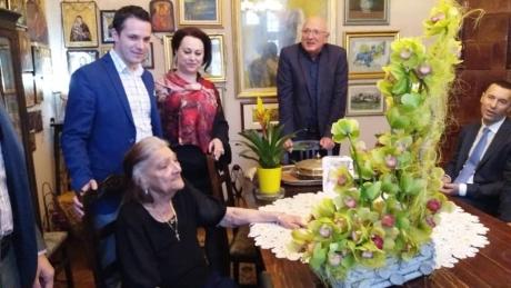 Președintele Tineretului ALDE, în vizită la casa familiei Quintus, la 102 ani de la nașterea fostului liberal