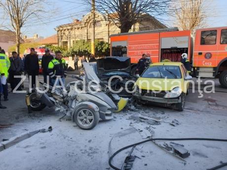 VIDEO Accident TERIBIL - O cunoscută judecătoare din Constanța se zbate între viață și moarte după un impact DEVASTATOR