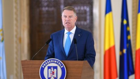 Klaus Iohannis îl felicită pe noul președinte al Ucrainei