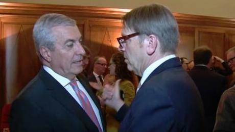 Lovitură grea pentru Călin Popescu Tăriceau: Guy Verhofstadt vine la București, dar merge alături de USR-PLUS