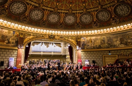 Capodoperele 'Rhapsody in Blu' şi 'Carmina Burana' închid stagiunea aniversară Filarmonica 'George Enescu' - 150