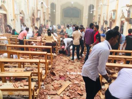 Nou bilanț al atentatelor din Sri Lanka - 253 de morți