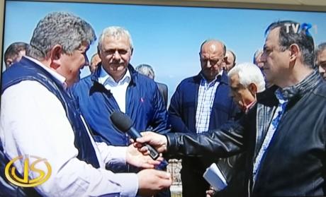 Liviu Dragnea a revenit la TVR 1 cu Petre Daea: atac la hârțogarii care pun bețe în roate agricultorilor