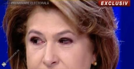VIDEO Rovana Plumb a început să plângă, când l-a auzit pe Liviu Dragnea: 'Mi-aș dori eu! O să vedem'