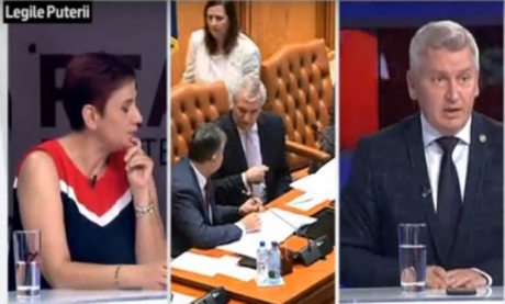 SCANDAL în studioul Realitatea TV, între jurnalista Ioana Ene Dogioiu şi deputatul PNL Florin Roman: 'O să vă distrug...' (VIDEO)