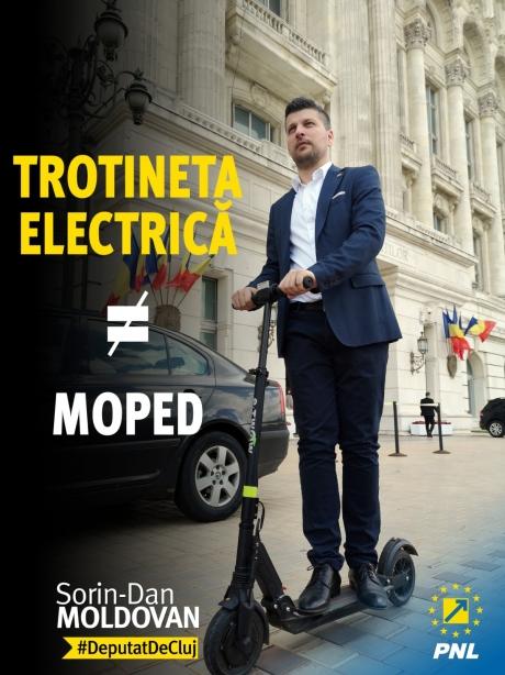 Vești bune pentru utilizatorii de trotinete electrice: deputat PNL, proiect care le reglementează regimul de circulație