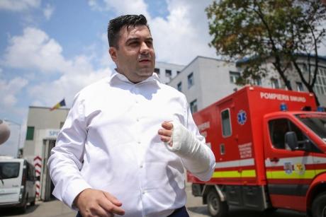 Brigada Rutieră a LUAT MĂSURA DRASTICĂ după accidentul lui Răzvan Cuc - Cu ce sancțiune s-a ales șoferul ministrului