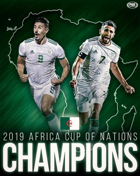 Algeria a învins Senegal, scor 1-0, şi a câştigat Cupa Africii pe Naţiuni, pentru a doua oară în istorie