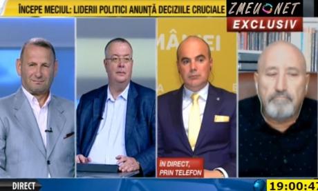 VIDEO - Rareș Bogdan s-a contrat cu Bogdan Chirieac la România TV: Sunteți de acord să vă autoflagelați? / Propuneți o chestie comunistă sau fascistă!