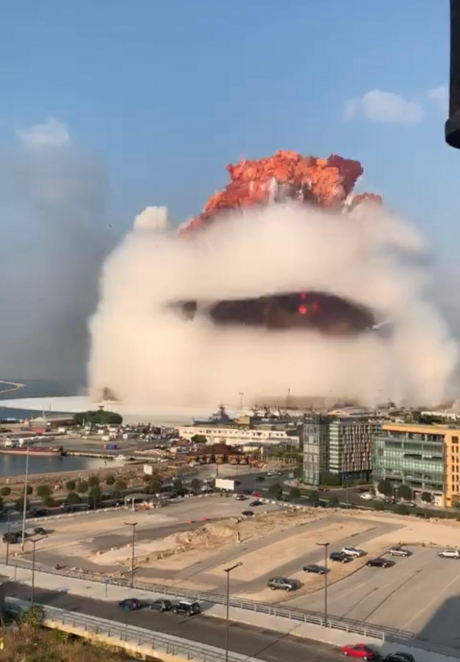 Noi cifre din Beirut: Cel puțin 73 de morți și peste 3.700 de răniți