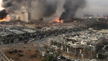 Președintele Libanului anunță cauza CATASTROFEI: Au explodat 2.750 de tone de nitrat de amoniu