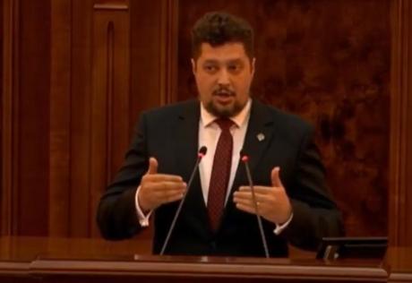 Senatorul Claudiu Târziu (AUR): 'Protestăm împotriva prigonirii lui Dușan Pârvulovici'
