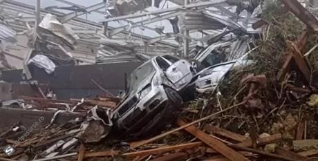 VIDEO O tornadă a făcut PRĂPĂD în Cehia: A DISTRUS mai multe localități și a făcut peste o sută de victime