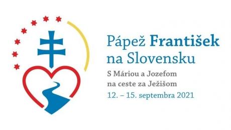 Au fost publicate emblema și moto-ul călătoriei apostolice a papei Francisc în Slovacia