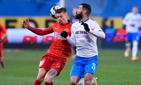 FCSB a învins Universitatea Craiova în primul mare derby al Ligii 1, pe Arena Națională: Scor 4-1