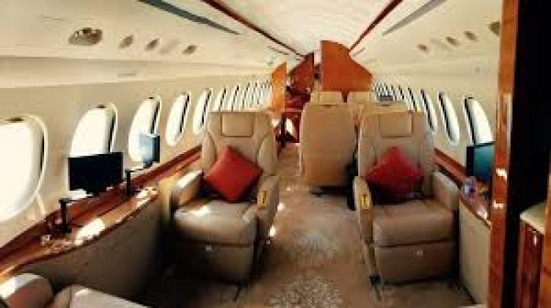 FOTO | Klaus Iohannis a plecat la New York cu o aeronavă privată de lux. Escală la Sibiu pentru 'prima doamnă' - Stiri pe surse - Cele mai noi stiri
